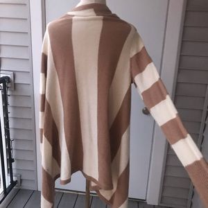Mossimo Supply Co. Sweaters - Mossimo Striped Waterfall Cardigan 5/$25
